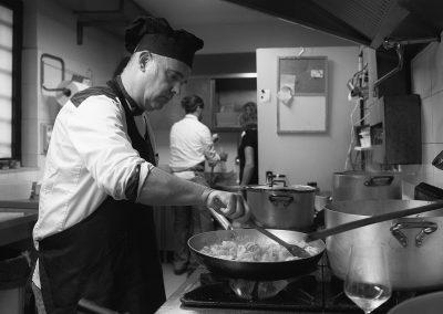 Scuola di cucina con Tiziano Gabbrielli